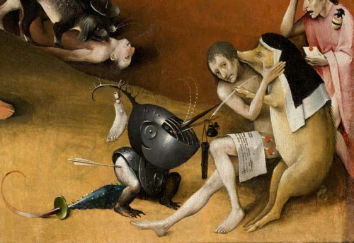 The Garden of Earthly Delights Detail