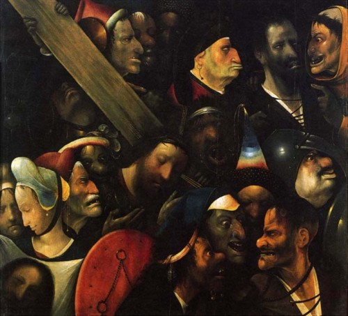 Christ Carrying the Cross c. 1503, 74x81 cm, Ghent (attribution disputed)