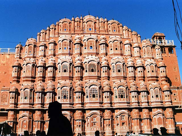 Palace of the winds, Jaipur, 1992