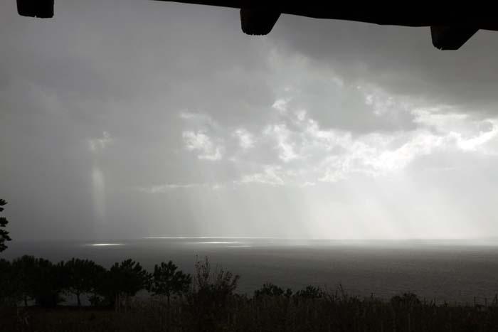 Storm at Sea, The downstairs view, Pianoconte, Lipari Island