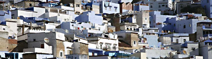 Chefchaouan houses