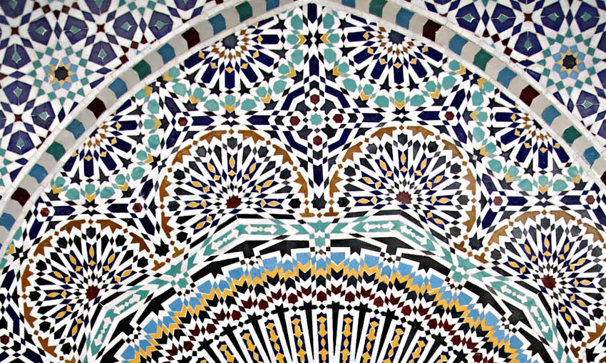 Morocco feature: Modern Table Fes Tile Factory