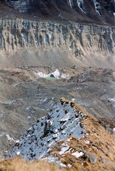 The Glacier beside ABC