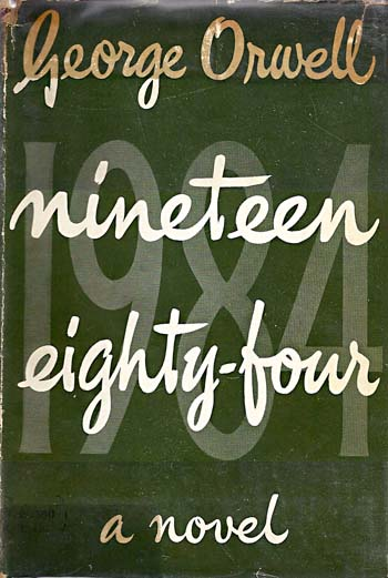 George Orwell, 1984, First Edition