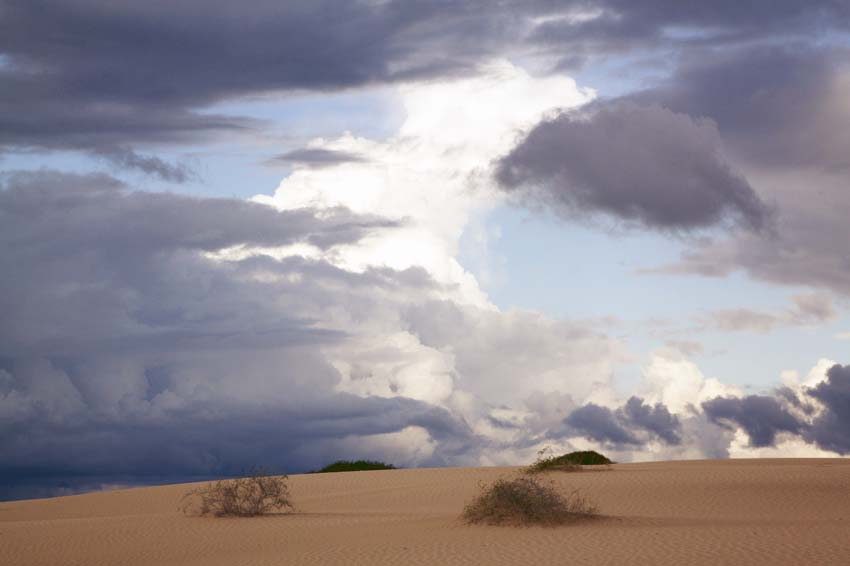 Storm Clouds over the Lunette, Lake Mungo, 2010