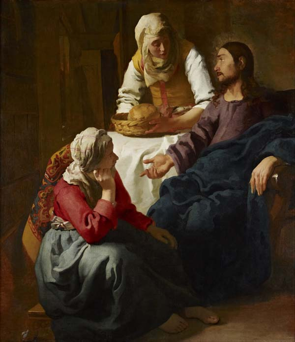 Christ in the House of Martha & Mary 1655, 160 x 142 cm, Scottish National Gallery, Google Art Project