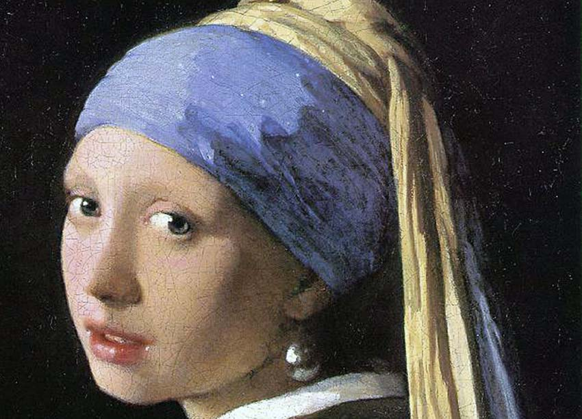 Girl with a Pearl Earring, Mauritshuis Den Haag 1665